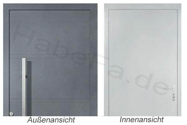Haustüren weiß ohne glas  ThermoSafe Haustür Motiv 75 von Hörmann