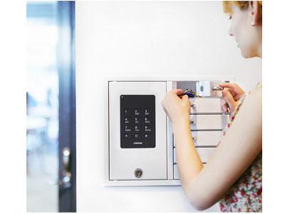 Sicherheit für ihren Schlüssel - die Keybox