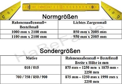 Standardmaß haustür  Thermo65 Haustür THP 810 / NTS 810