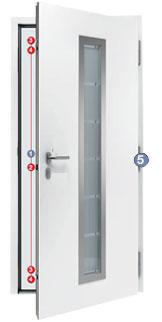 Beliebt Thermo65 Haustür THP 410 S / NTS Plus 410S WT62