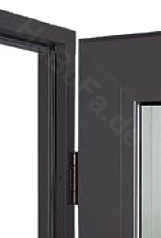 alu innent r az 40 mit verglasung ma e b 875mm h 2000 2125mm. Black Bedroom Furniture Sets. Home Design Ideas