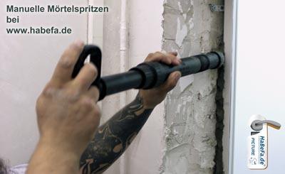 Mörtelspritze Online bei HaBeFa.de kaufen.