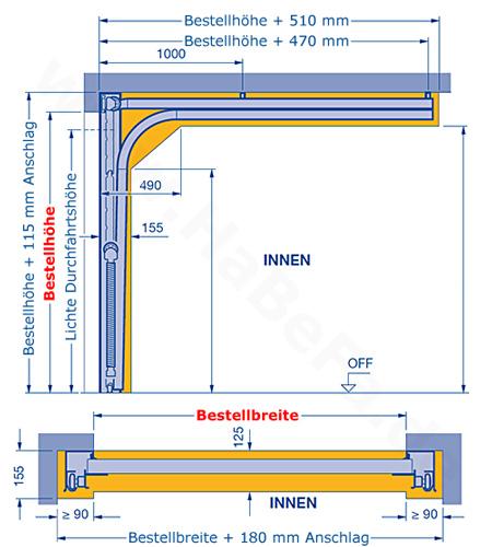 sektionaltor renomatic light garagentor von h rmann. Black Bedroom Furniture Sets. Home Design Ideas