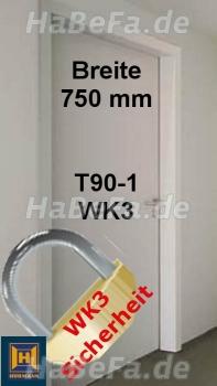 t90 1 h16 brandschutzt r rc3 wk3 b 750 mm h he w hlbar. Black Bedroom Furniture Sets. Home Design Ideas