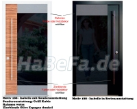 securidoor typ 188 isabelle holzhaust r mit spezialoberfl che breite bis 1200 mm und h he bis. Black Bedroom Furniture Sets. Home Design Ideas
