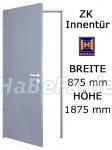 zk t r von h rmann 750 mm x 1875 mm mit t rblatt zarge und beschlag. Black Bedroom Furniture Sets. Home Design Ideas