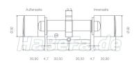 simonsvoss digitaler schlie zylinder g2. Black Bedroom Furniture Sets. Home Design Ideas