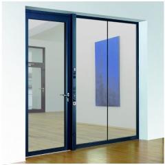 t30 1 brandschutzt ren einfl gelig aus aluminium mit verglasung. Black Bedroom Furniture Sets. Home Design Ideas