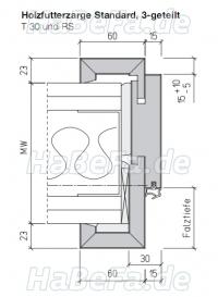 t30 1 holz brandschutzt r 1000 x 2250 mm sch rghuber typ 3 0. Black Bedroom Furniture Sets. Home Design Ideas