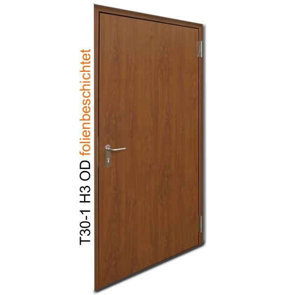 brandschutzt r t30 1 h3 od folienbeschichtete stahlt r breite 875 mm h he w hlbar. Black Bedroom Furniture Sets. Home Design Ideas