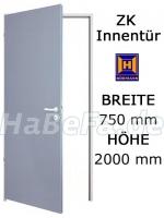 ZK Tür von Hörmann 750 mm x 2000 mm mit Türblatt, Zarge und Beschlag (Hörmann KG)