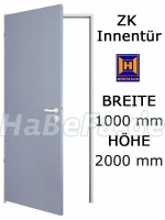 ZK Tür von Hörmann 1000 mm x 2000 mm mit Türblatt, Zarge und Beschlag (Hörmann KG)