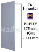 ZK Tür von Hörmann 875 mm x 2000 mm mit Türblatt, Zarge und Beschlag (Hörmann KG)