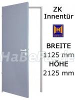 Tür mit zarge  ZK Tür von Hörmann 1125 mm x 2125 mm mit Türblatt, Zarge und Beschlag