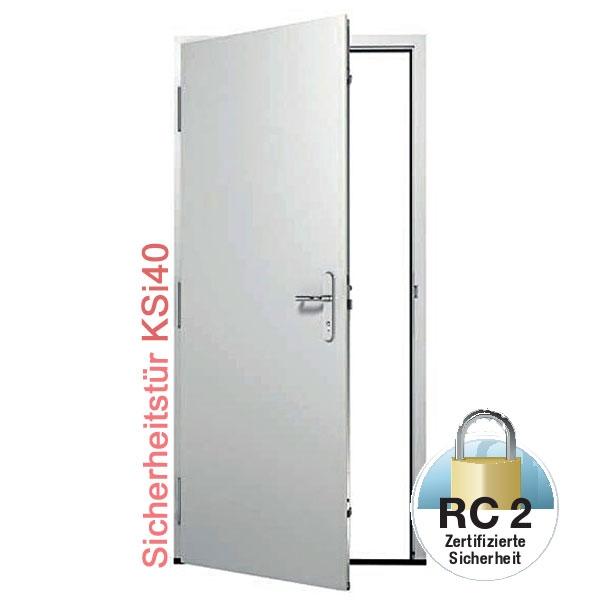 Top KSI 40 - Kellertür Sicherheitstür RC2 (WK2) | Sondermaß SS22