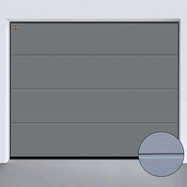 sektionaltor lpu 42 micrograin l sicke color bis b 6000 x h 3000mm. Black Bedroom Furniture Sets. Home Design Ideas