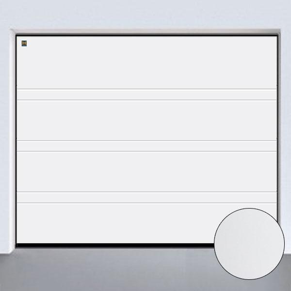 Garagentor hörmann oberfläche  Sektionaltor LPU 42, Silkgrain D-Sicke, Weiß, bis B: 6000 x H: 3000mm