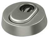 abus aluminium zylinder schutzrosette f r holzt ren rhzs 415. Black Bedroom Furniture Sets. Home Design Ideas