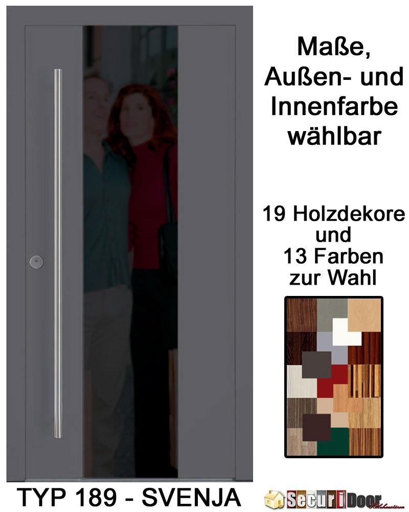 securidoor typ 189 svenja holzhaust r mit spezialoberfl che breite bis 1200 mm und h he bis. Black Bedroom Furniture Sets. Home Design Ideas