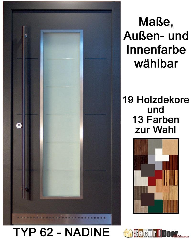 securidoor typ 62 nadine holzhaust r mit spezialoberfl che breite bis 1200 mm und h he bis 2500. Black Bedroom Furniture Sets. Home Design Ideas