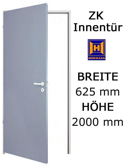 zk t r von h rmann 625 mm x 2000 mm mit t rblatt zarge. Black Bedroom Furniture Sets. Home Design Ideas