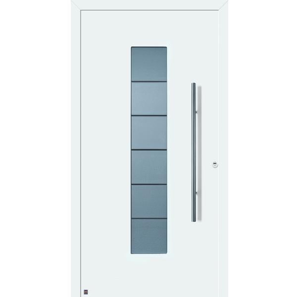 Haustüren weiss preise  ThermoSafe Haustür Motiv 504 von Hörmann