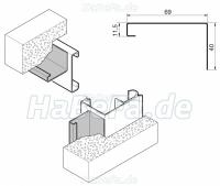 renovierungsblenden set sandgrain ral nach wahl oder h rmann ch 703. Black Bedroom Furniture Sets. Home Design Ideas