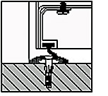 habefa lexikon a alu abschlu profil mit schleifdichtung. Black Bedroom Furniture Sets. Home Design Ideas